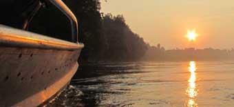 Sul fiume, alla Motonautica