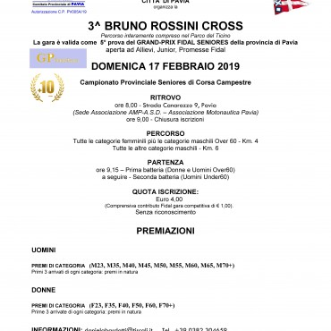 3^ BRUNO ROSSINI CROSS e YOUNG