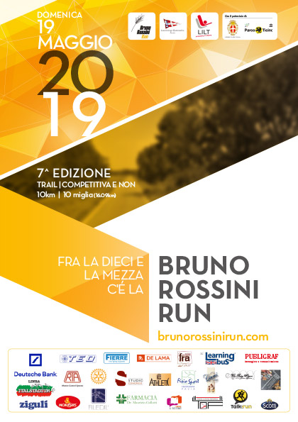 BRUNO ROSSINI RUN-7^EDIZIONE