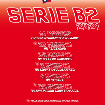 Al via la Serie B2