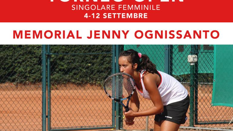 Torneo Open Memorial Jenny Ognissanto